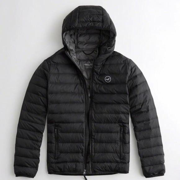 hollister bubble jacket